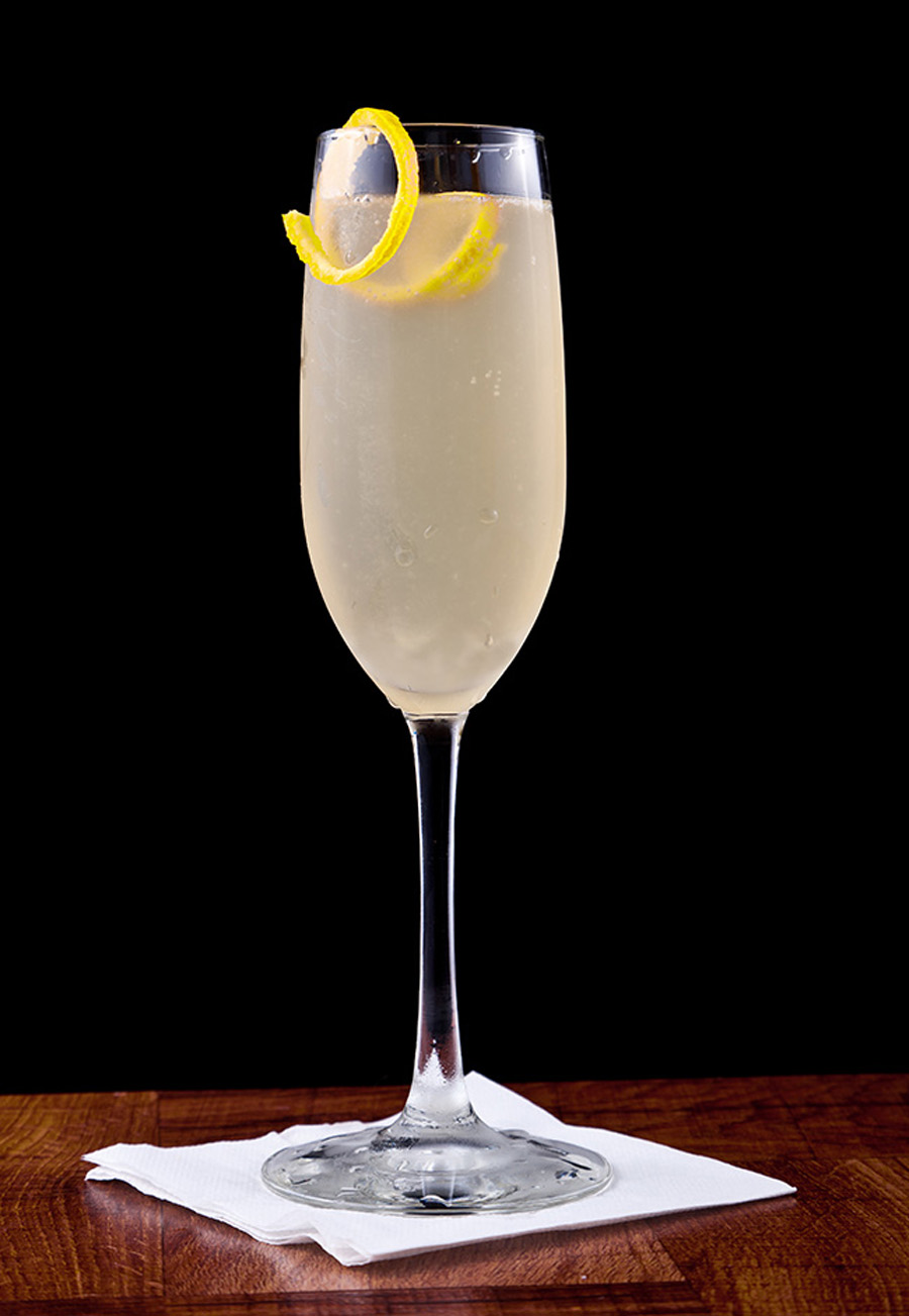 10 classic champagne cocktails by fashion cleaners omaha for Best juice with gin